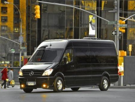 Mercedes Sprinter (Rest) черный (Black)