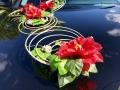 Кольца ротанга с цветами