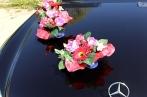 Декорация из роз