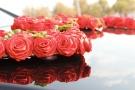 """Надпись """"Love"""" из красных роз"""