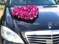 Объемное сердце из роз (фиолетовый цвет)