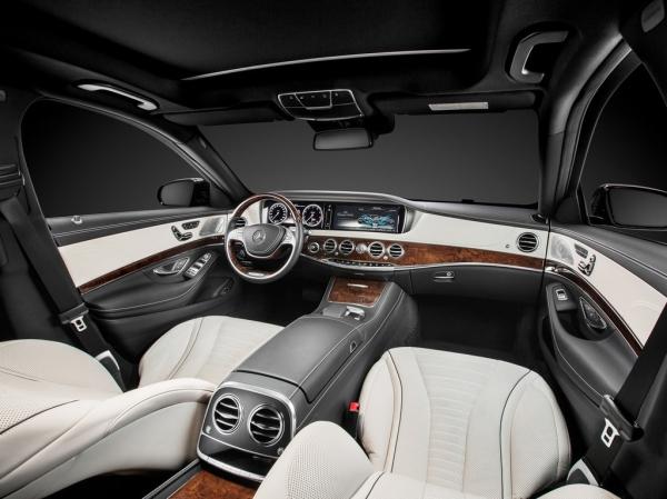 Mercedes S-klasse W222 White